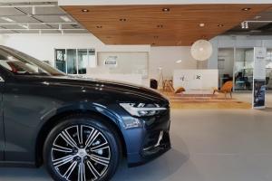 Interno Salone Volvo Legnano