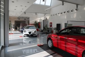 Interno Alfa Romeo